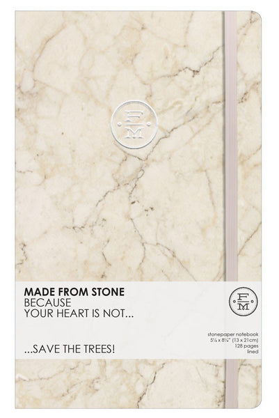 SKU : 1341 - Ivory - Stonepaper Notebook