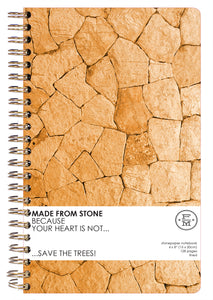 SKU : 1342 - Terra Cotta - Stonepaper Notebook