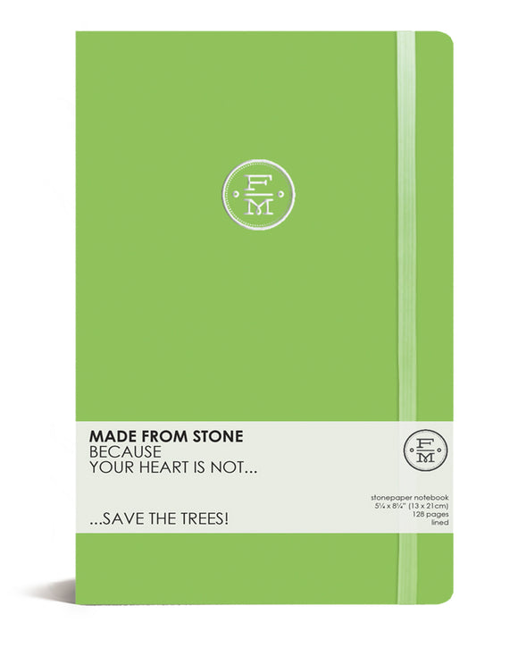 SKU : 1345 -  Lime - Stonepaper Notebook