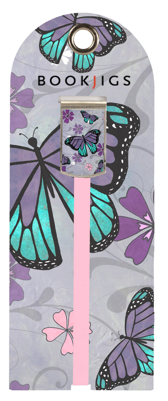 SKU : 1407 - Purple Butterfly - Bookjig