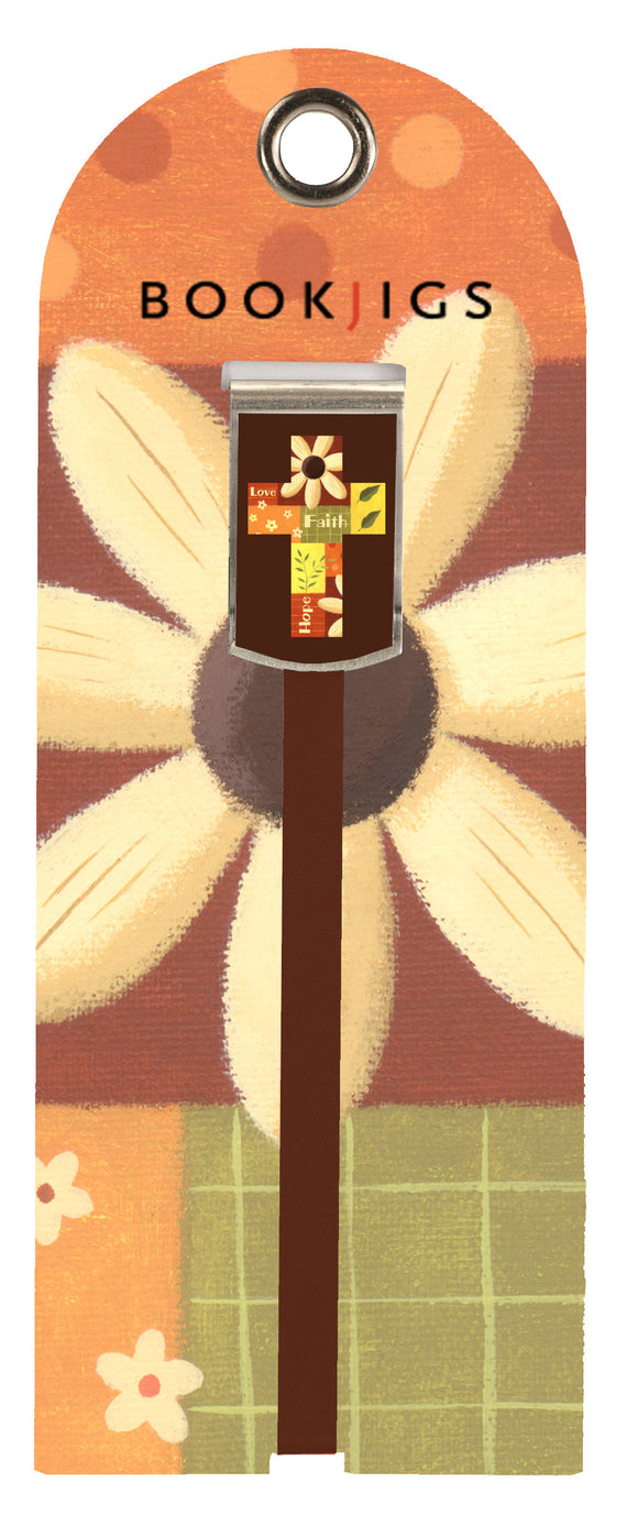 SKU : 1433 - Daisy Cross - Bookjig
