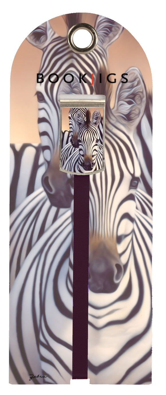 SKU : 1437 - Zebra - Bookjig
