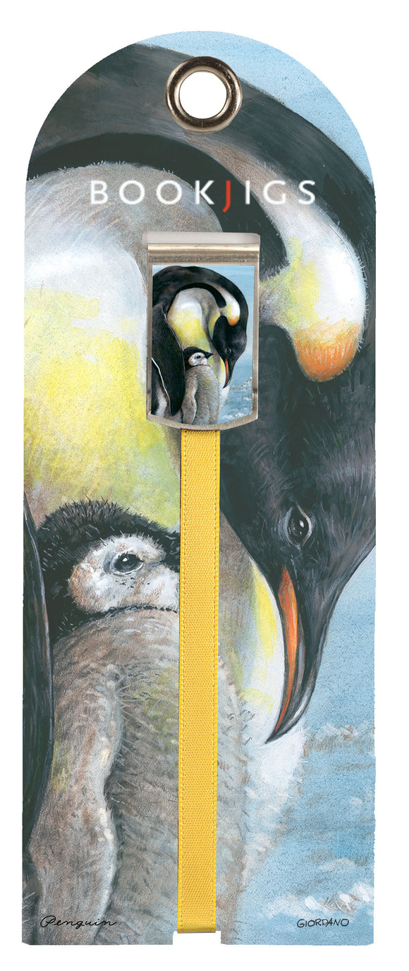 SKU : 1458 - Penguin Love - Bookjig