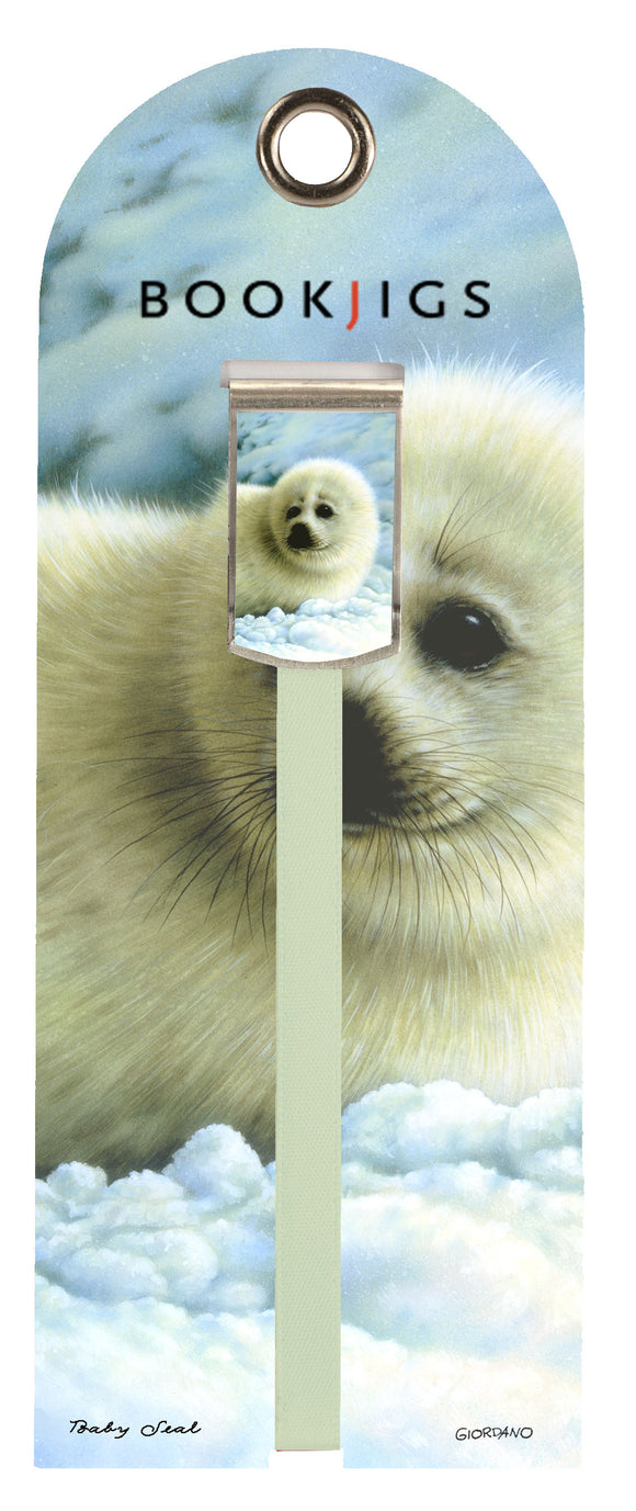 SKU : 1460 - Baby Seal - Bookjig