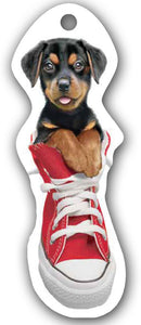 SKU : 15161 - I Love My Rottweiler - Die Cut Bookmark