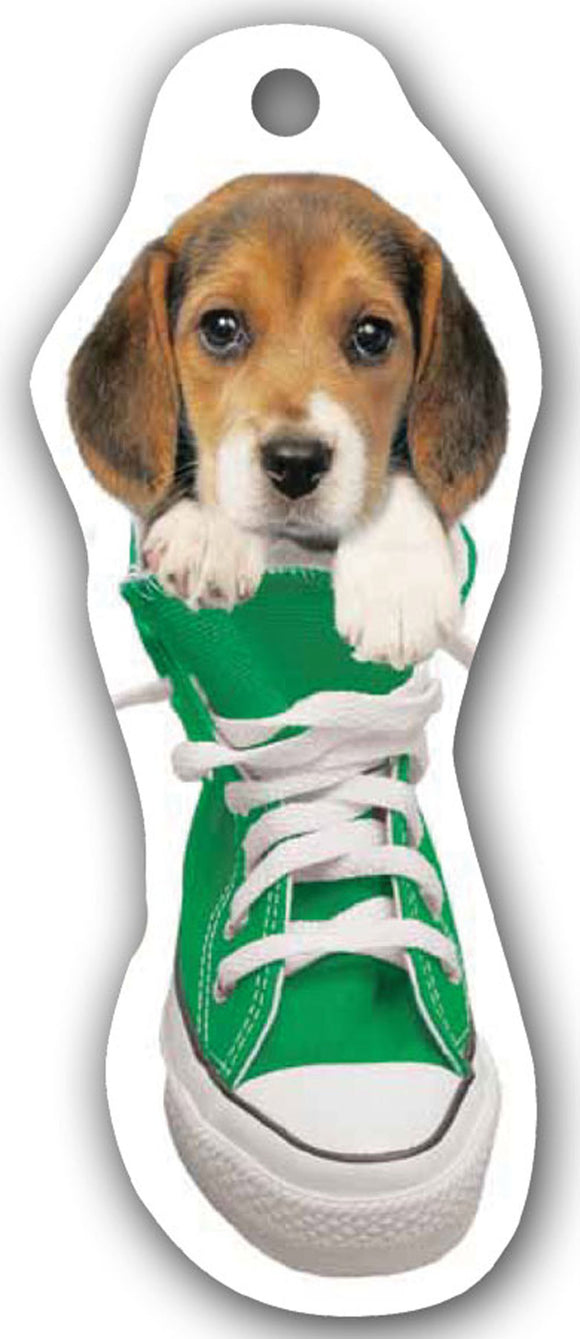 SKU : 15164 - I Love My Beagle - Die Cut Bookmark