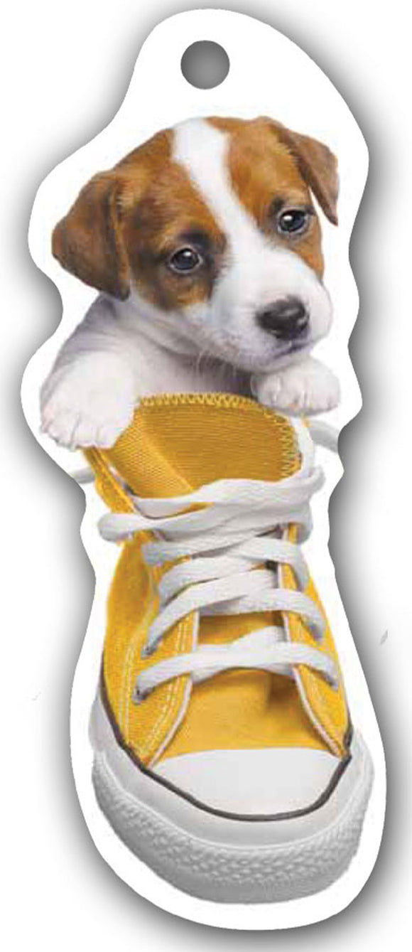 SKU : 15168 - I Love My Jack Russell - Die Cut Bookmark