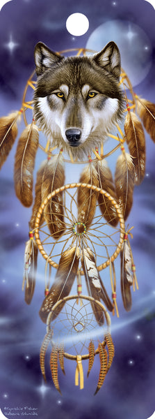 SKU : 16159 - Wolf Dreamcatcher - 3D Bookmark
