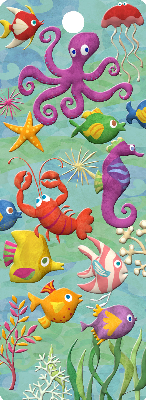 SKU : 16165 - Sea Creatures - 3D Bookmark
