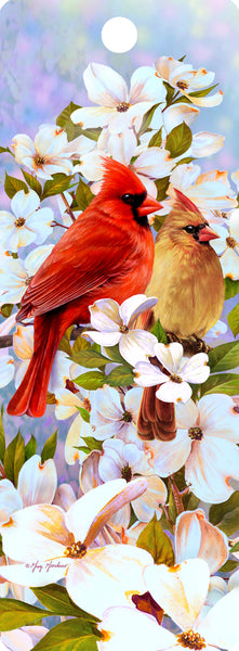 SKU : 16173 - Cardinal Love - 3D Bookmark