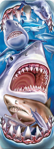 SKU : 16177 - Shark Attack - 3D Bookmark