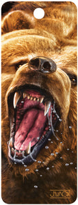SKU : 16198 - Grizzly Growl - 3D Bookmark