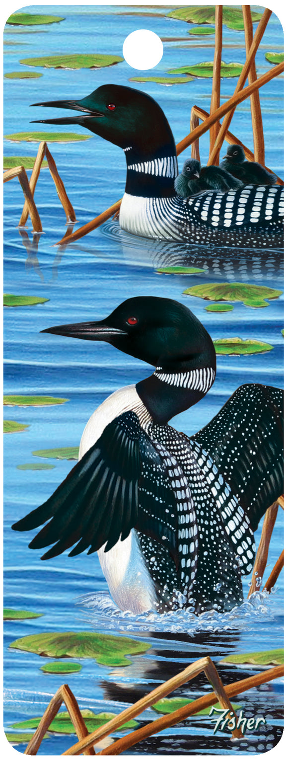 SKU : 16207 - New Loon - 3D Bookmark