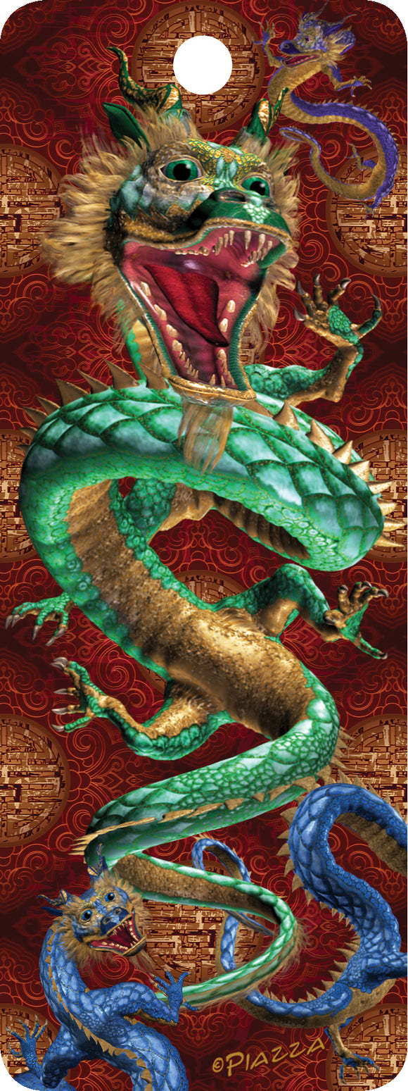 SKU : 16227 - Eastern Dragon - 3D Bookmark