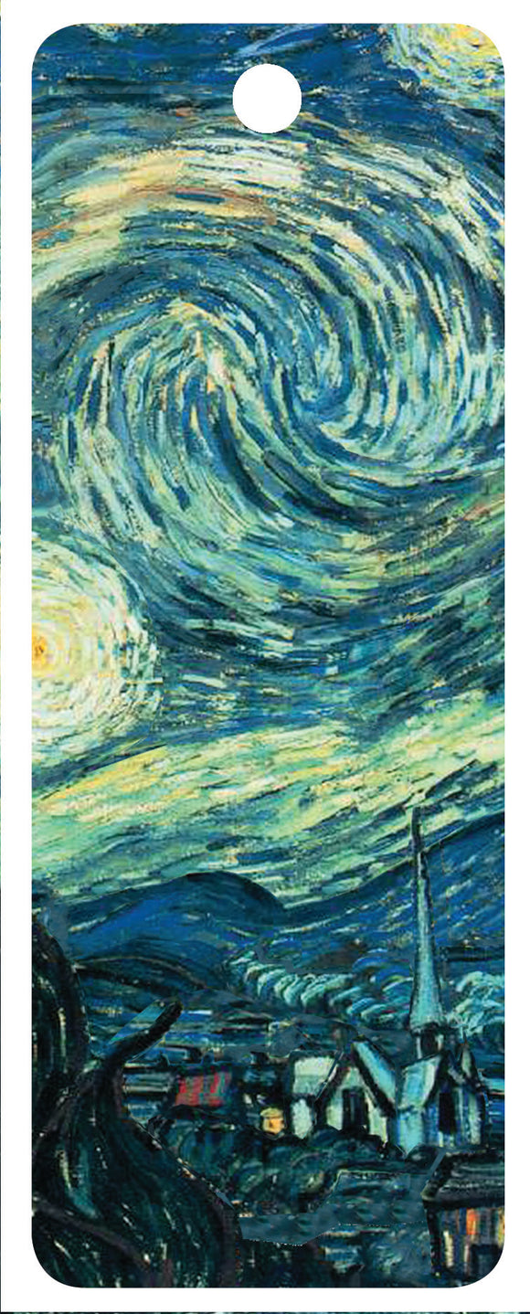 SKU : 16233 - Starry Night - 3D Bookmark