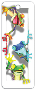 SKU : 16262 - Tree Frogs - 3D Bookmark
