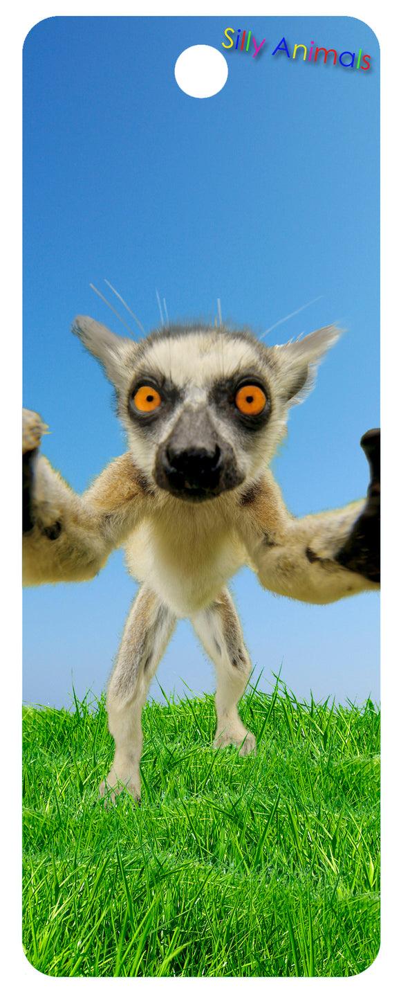 SKU : 16289 - Lemur Selfie - 3D Bookmark
