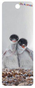 SKU : 16290 - Penguin Besties - 3D Bookmark