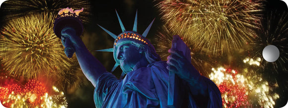 SKU : 16312 - Statue of Liberty Fireworks - Motion Bookmark