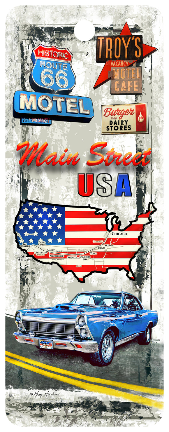 SKU : 16321 - USA Classic Cars - 3D Bookmark