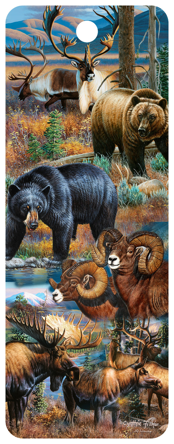 SKU : 16326 - Northern Wildlife - 3D Bookmark
