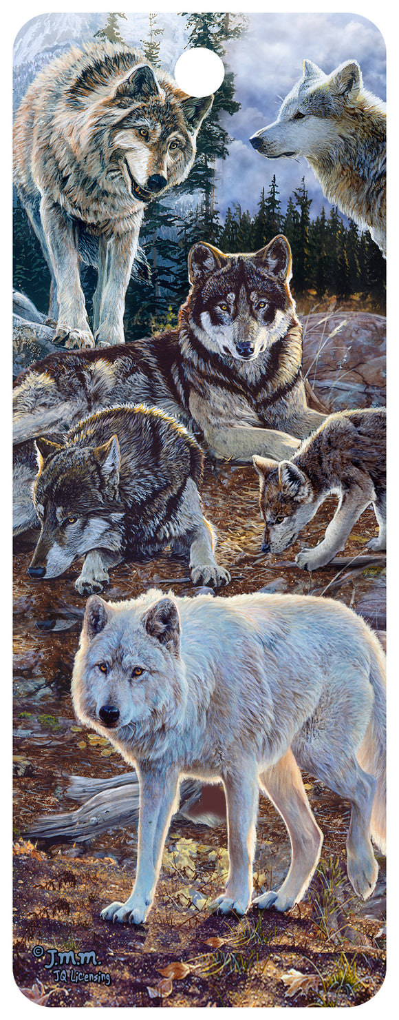 SKU : 16330 - Pack Of Wolves - 3D Bookmark
