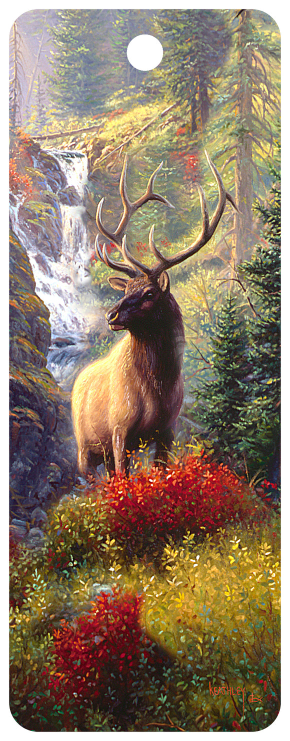 SKU : 16331 - Bull Elk - 3D Bookmark