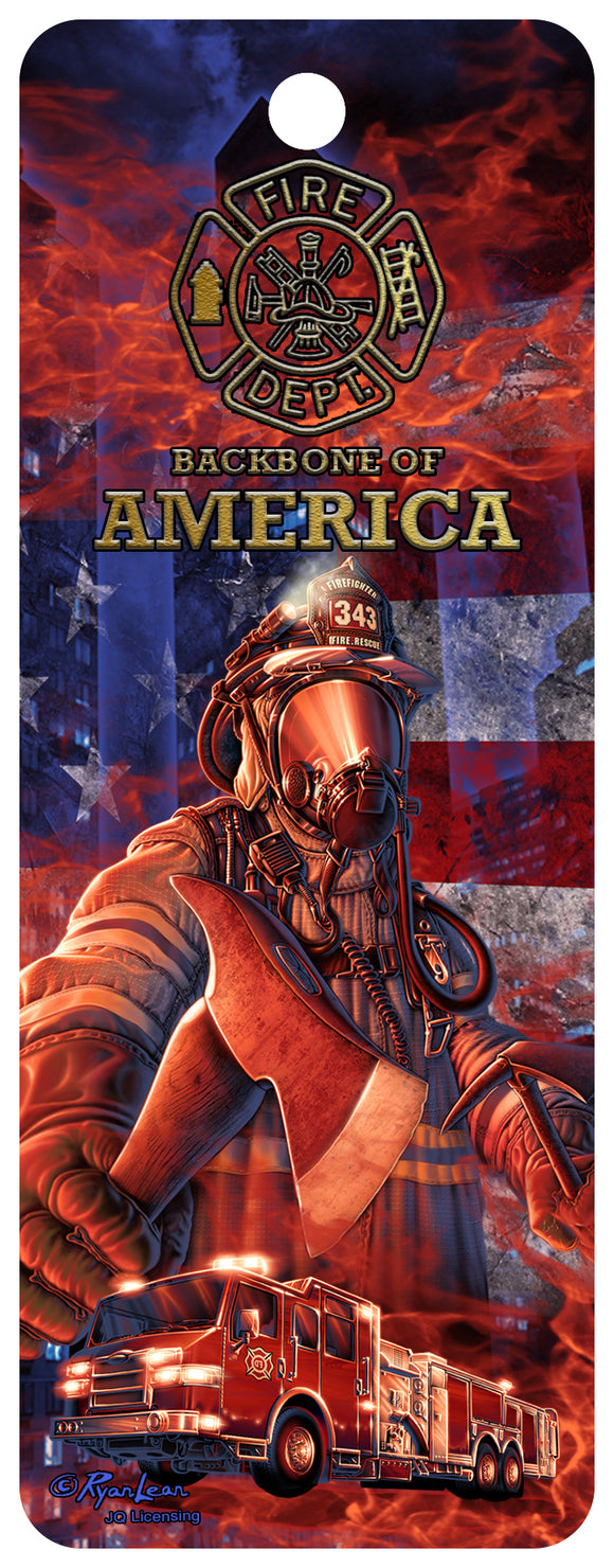 SKU : 16333 - Backbone of America - Fire - 3D Bookmark