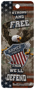 SKU : 16335 - Armed Forces Eagle - 3D Bookmark