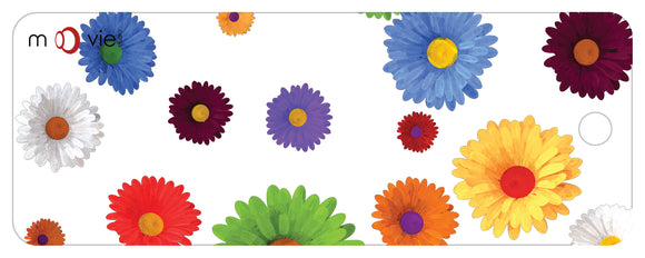 SKU : 16340 - Flowers - Clear Motion Bookmark