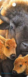 SKU : 16366 - Buffalo and Calves - 3D Bookmark