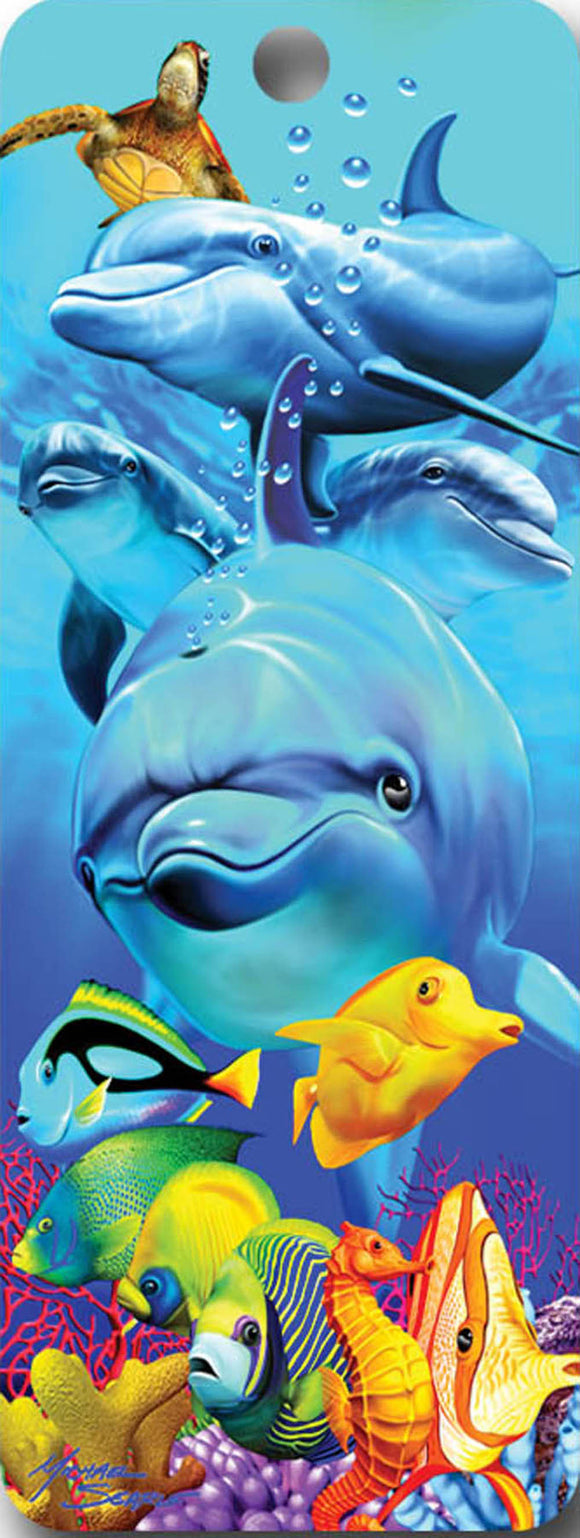 SKU : 16507 - Dolphins - 3D Bookmark