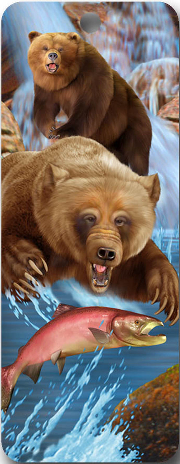 SKU : 16516 - Grizzly's Lunch - 3D Bookmark