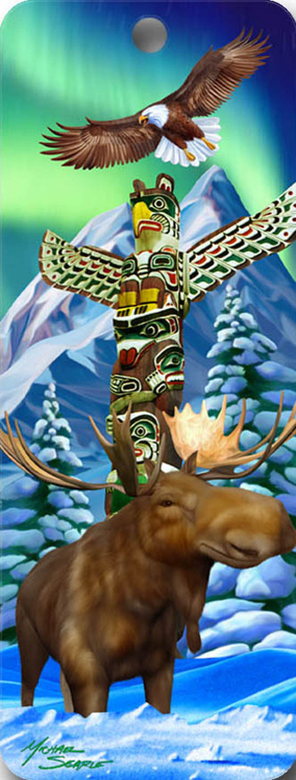 SKU : 16521 - Totem Pole - 3D Bookmark