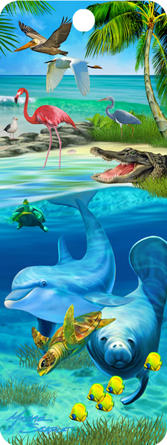 SKU : 16537 - Coastal Wildlife - 3D Bookmark