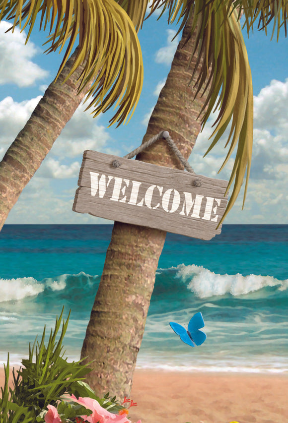 SKU : 20157 - Welcome to Paradise - 3D Magnet