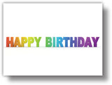 SKU : 20215 - Happy Birthday Letters - Motion Magnet