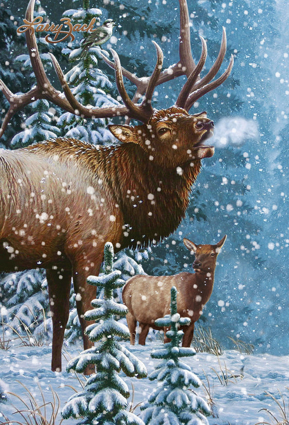 SKU : 20303 - Elk - Motion Postcard