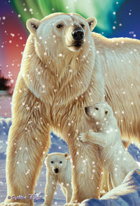 SKU : 20306 - Polar Bear - 3D Postcard