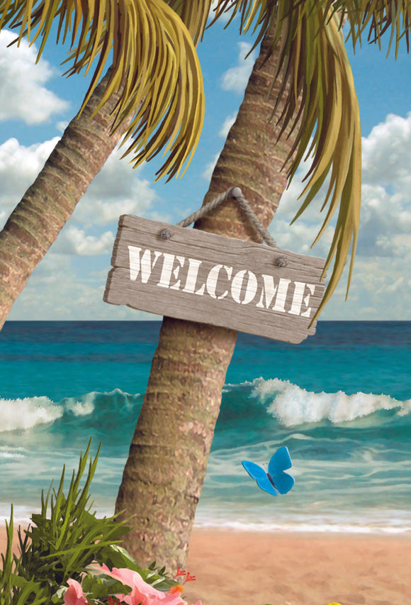 SKU : 20308 - Welcome to Paradise - 3D Postcard