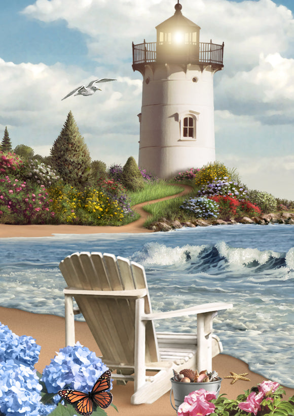 SKU : 20318 - Lighthouse - 3D Postcard