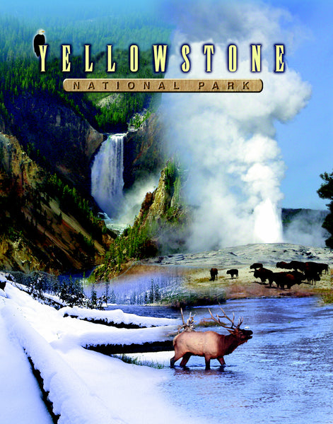 SKU : 20321 - Yellowstone - 3D Postcard
