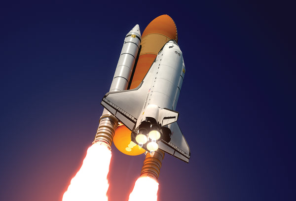 SKU : 20333 - Space Shuttle - Motion Postcard