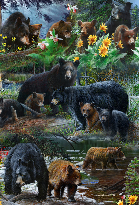 SKU : 20392 - And Bears, Oh My - 3D Postcard