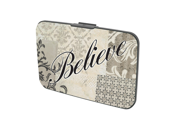 SKU : 30529 - Believe - Canvas Security Wallet