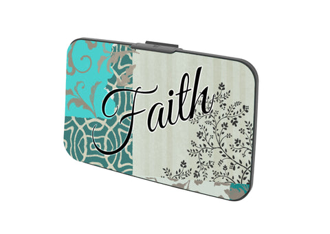 SKU : 30532 - Faith - Canvas Security Wallet