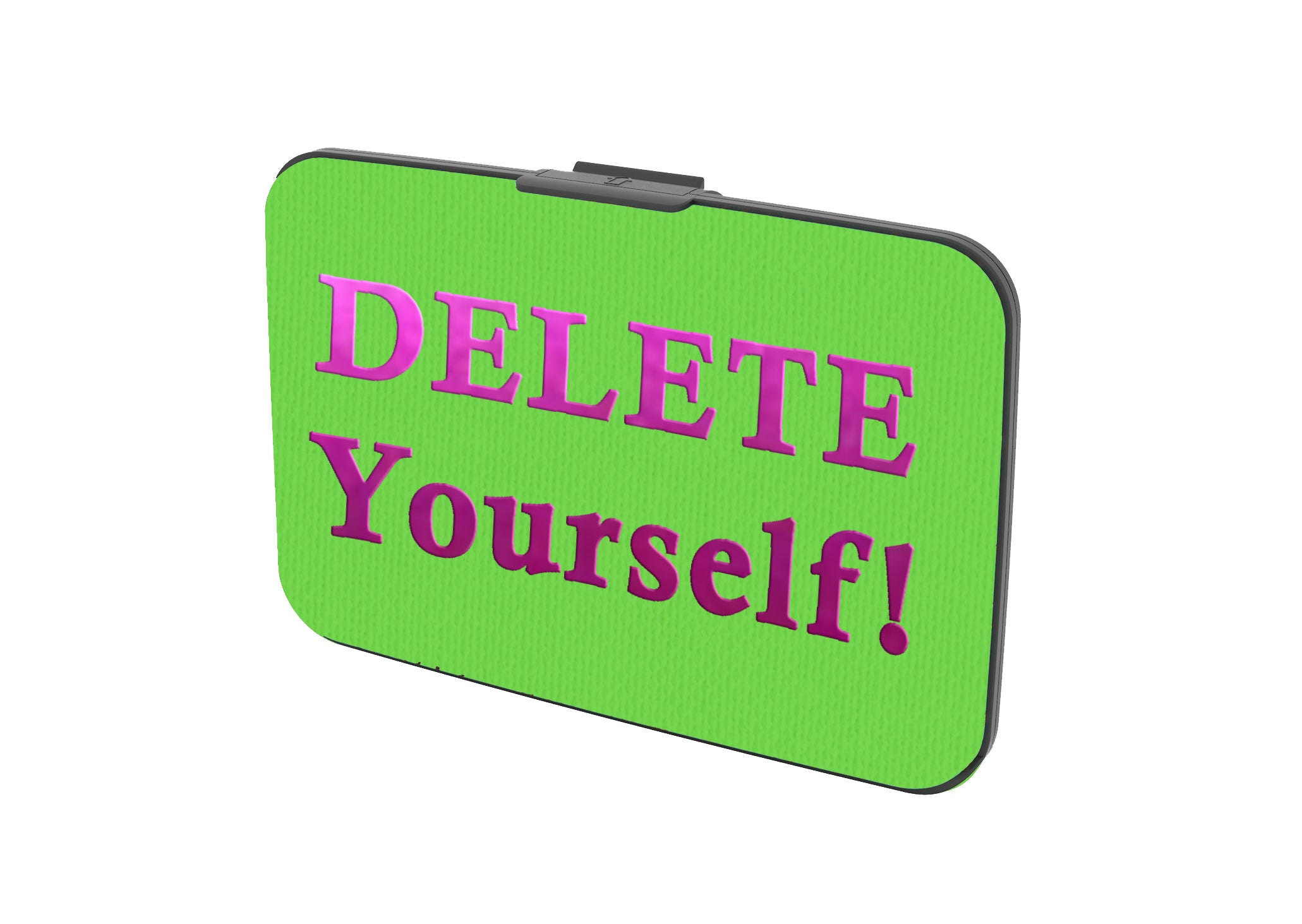 Delete Yourself! - Canvas Security Wallet