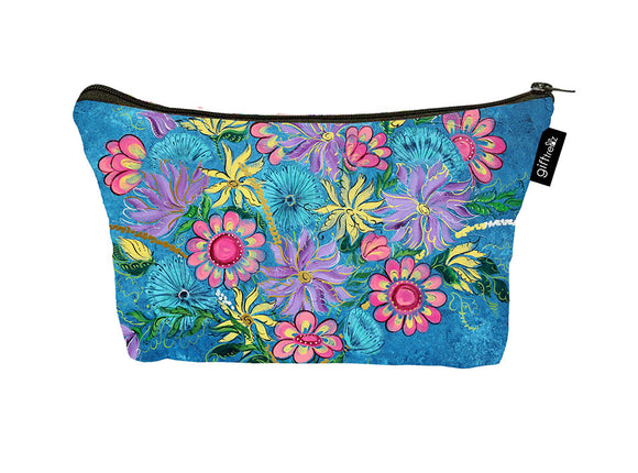 SKU : 30751 - Spirited Floral - Canvas Accessory Case