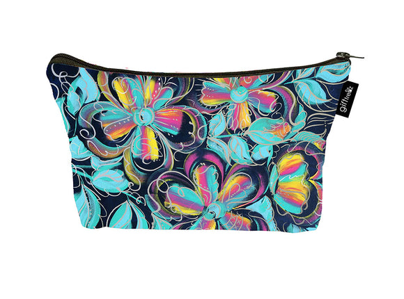 SKU : 30753 - Funfetti Floral - Canvas Accessory Case