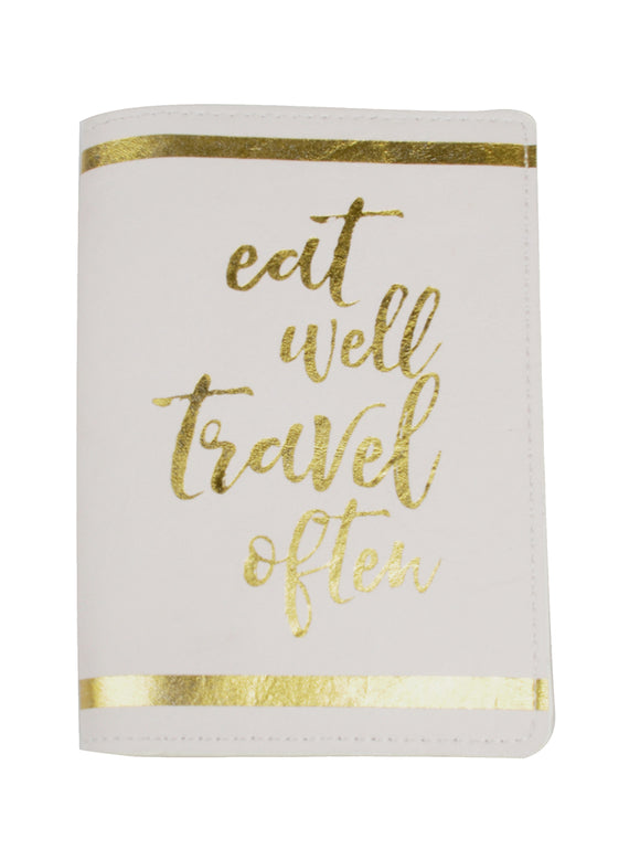 SKU : 30755 - Eat Well - Passport Holder